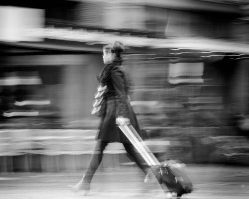 conceptuele fotografie, bedrijfsfotografie, conceptueel, documentaire fotografie, zwart-wit, motion, beweging, GGZ